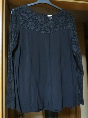 Bluse, Gr.40/M, schwarz