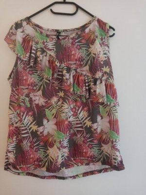 Colours of the World Sleeveless Blouse multicolored polyester