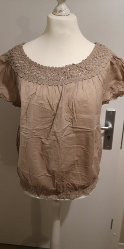C&A Yessica Tunic Blouse beige-camel