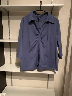 Biaggini Bluzka z krótkim rękawem stalowy niebieski