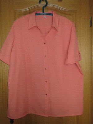 Bluse, Gr.50/XL, Kurzarm