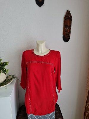 Bodyflirt Oversized blouse rood