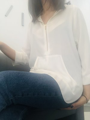 adl Short Sleeved Blouse cream