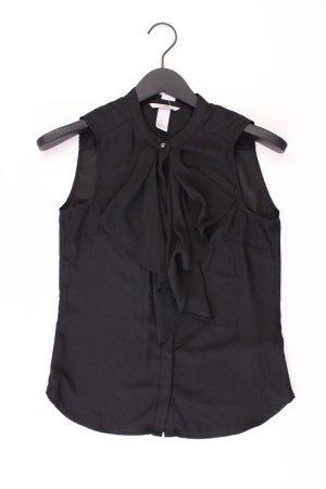 Bluse Größe 34 schwarz aus Polyester