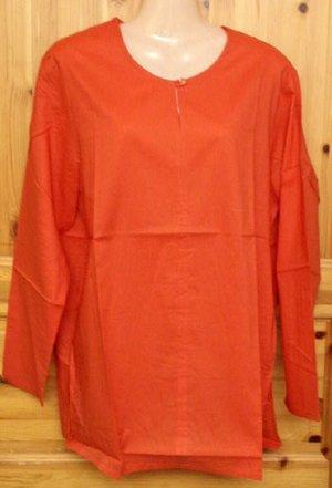 Bluse Größe 44/46 Shabby Chic Rot