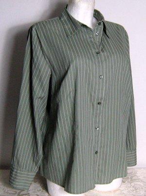 John Baner Blusa-camisa caqui Algodón