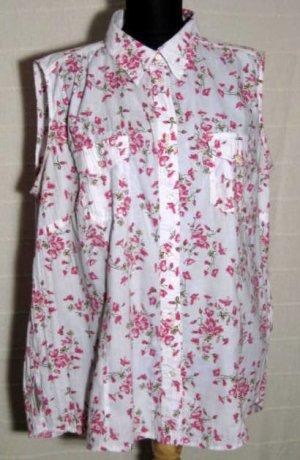 Bluse Größe 46 Rosen Print