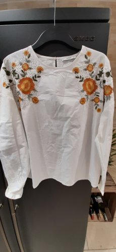 Bluse Größe XL Floral gestickt von Mango
