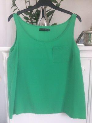Bluse / grün / Ge. 36 S