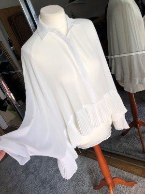 Guess Ruffled Blouse white-natural white