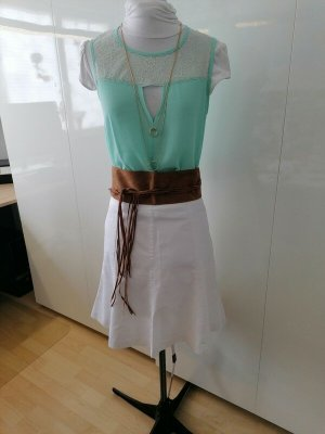 Guess Sleeveless Blouse pale green