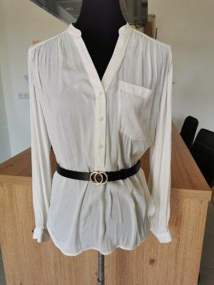 Bluse H&M Cremeweiß Größe 38