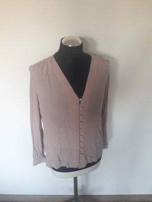 bluse h&m rosa gr  36