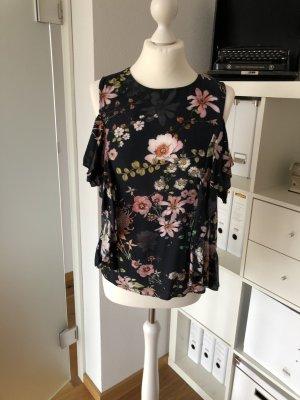 Bluse H&M Sommer Blumen 38