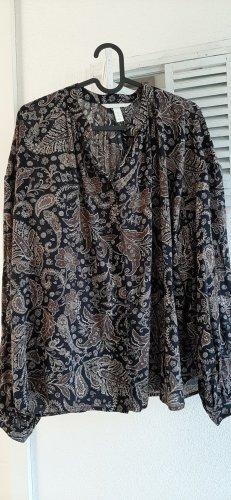 Bluse H&M ungetragen Blumen klassisch Tunika