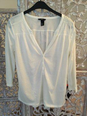 Bluse H&M, Weiß