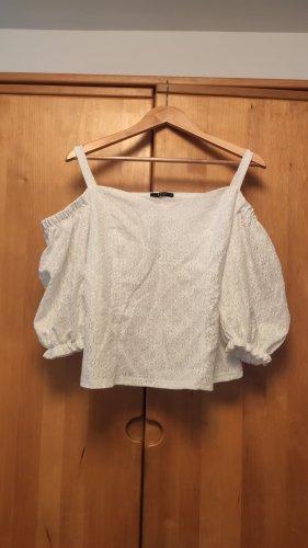 Mohito Kanten blouse wit