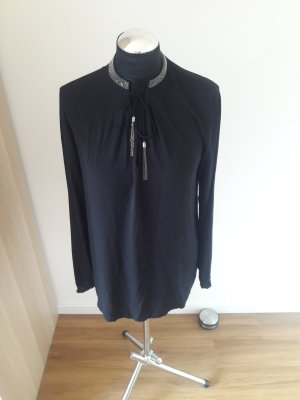 Hallhuber Long Sleeve Blouse black