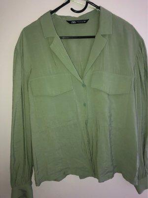 Zara Davantino (per blusa) verde chiaro