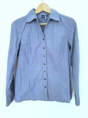 Cecil Camicetta a maniche lunghe grigio ardesia-blu pallido