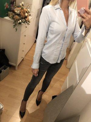 Bluse Hellblau H&M 36