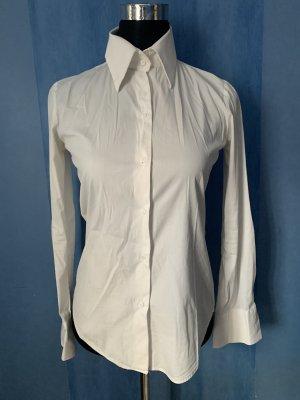 Bluse Hemd Basic Zara tailliert Stretch Elasthan