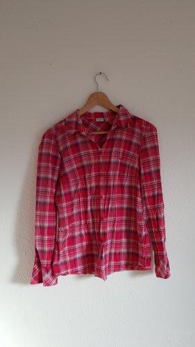 Bluse Hemd Esprit pink kariert