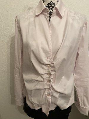 René Lezard Camisa de manga larga rosa Algodón
