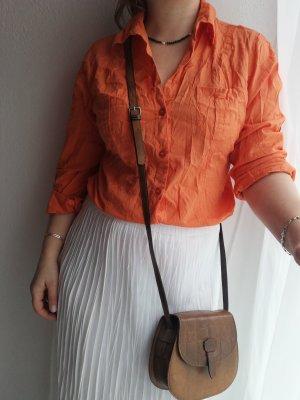 Charles Vögele Camicetta a maniche lunghe arancione-arancio neon