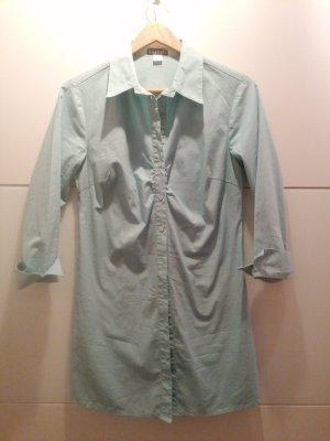Bodyright Abito blusa camicia blu pallido