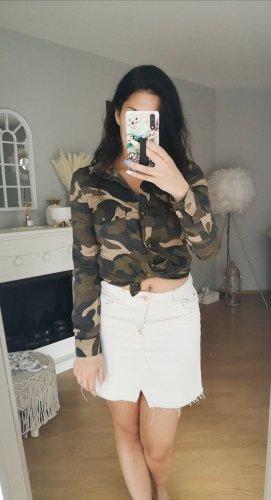 Bluse Hemd military blogger hipster boho