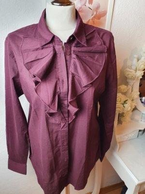 Bluse Hemd mit Kragen M
