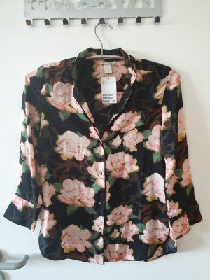 Bluse Hemd Oberteil H&M Gr. 34 Rosa NEU !