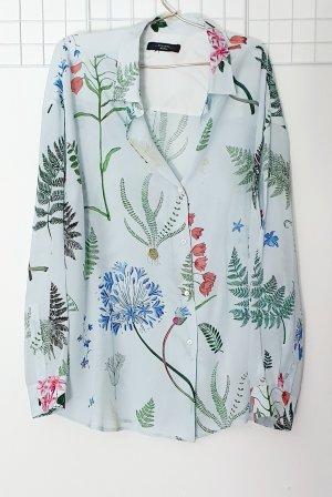 Max Mara Oversized Blouse multicolored silk