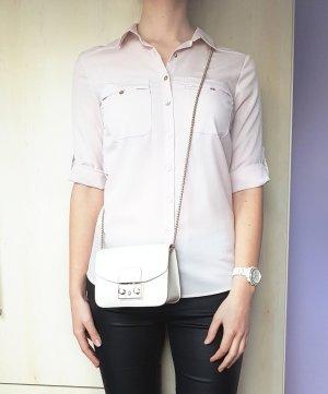 Bluse Hemd Puderrosa Hellrosa H&M Gr. 36