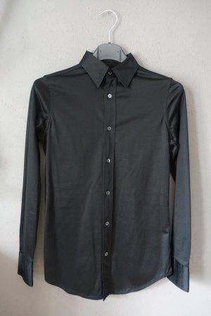 Bluse, Hemd, schwarz, Polo Ralph Lauren, ungetragen Basic, Baumwolle
