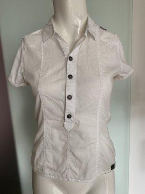 G-Star Kołnierzyk koszulowy biały