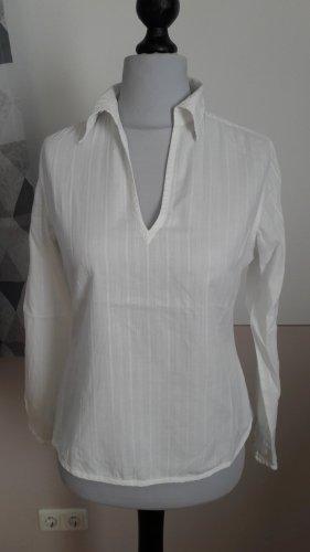 H&M L.O.G.G. Blusa blanco puro Algodón