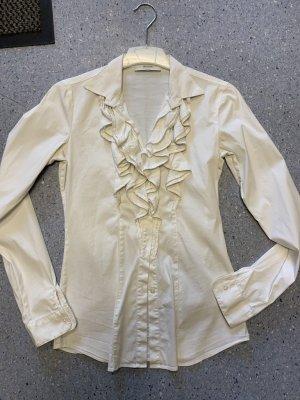 Aglini Ruche blouse wit
