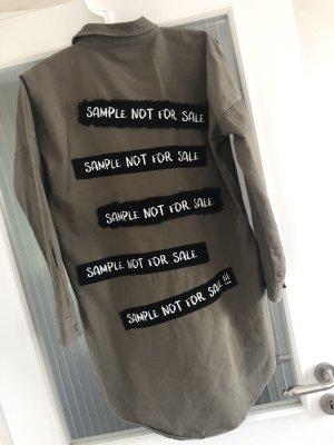 Spijkershirt oker-khaki