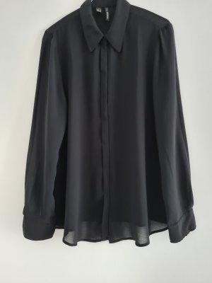 Mango Cols de blouses noir