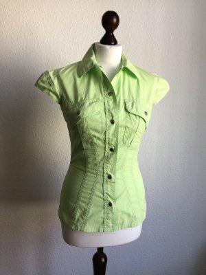 Bluse Hemdbluse Safarihemd Designerbluse von Mugler