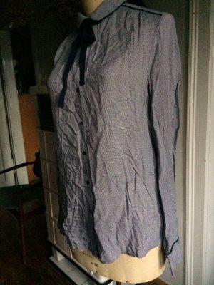 Bluse, Hemdbluse, Schleifenbluse, Gr. 38, nie getragen, sportlich elegant, Neu