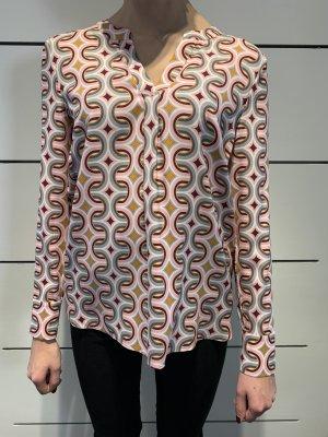 Herzensangelegenheit Blusa in seta rosa-grigio