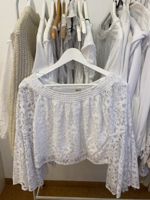 Hollister Lace Blouse white