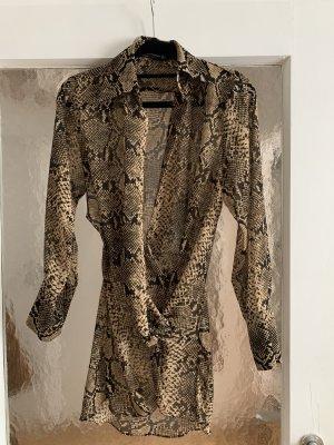 Bluse im animalprint von Zara