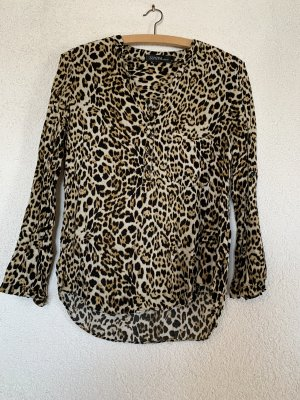 Bluse im Leoparden Muster/ Animalprint