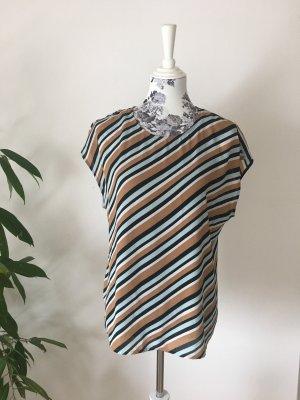 Bluse im Streifendesign