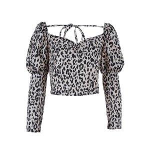 Bluse im Zebra Style Größe M