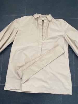H&M Bluzka oversize beżowy